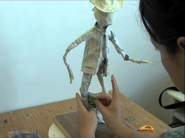 How to sculpt with paper