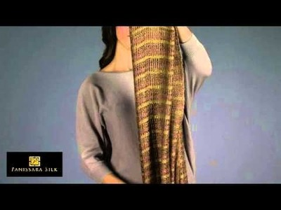 How to Tie a Silk Scarf in a French Chain