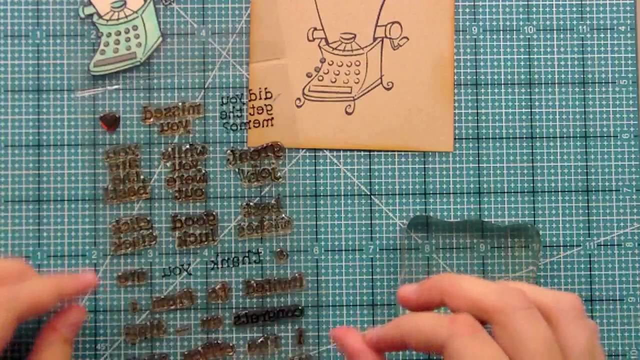 Lawn Fawn: How to make a card from start to finish using Just My Type and Just My Type, Too