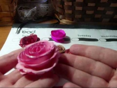 #lovesummerart Paper Flowers.wmv