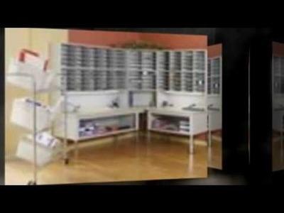 Mail Equipment Store Literature Organizer Paper Storage Slots