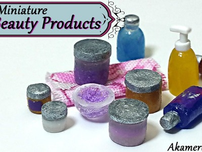 Miniature Beauty Products - Polymer Clay Tutorial