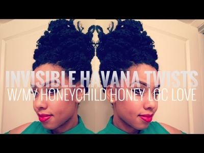 Natural Invisible Root Havana Twists | Jumbo Senegalese Twist Tutorial