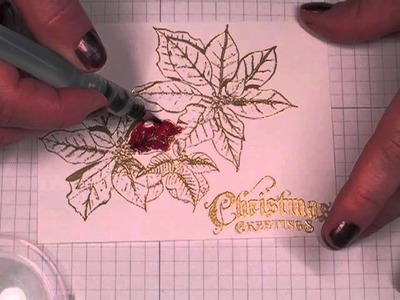 Non-dimensional Christmas Card Tutorial
