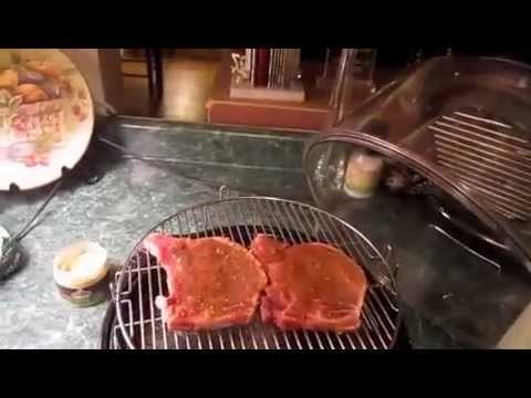 NUWAVE OVEN - pork chops cooked in 10 mins