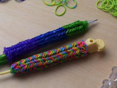 RAINBOW LOOM HOOK COVER & PENCIL COVER