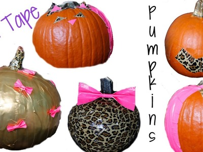 {Review} Duct.Duck Tape Pumpkin Decorating!
