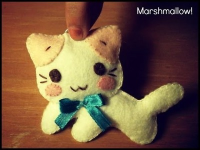 Sanrio's Masyumaro Cat Plushie Tutorial