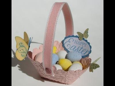 Scallop Circle Die Easter Basket