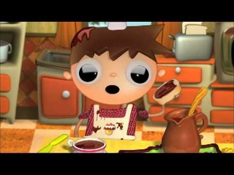 Telmo and Tula - Home made Bread - Cook with children, cartoon series