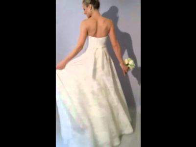 THEIA Silk Organza Bridal Gown