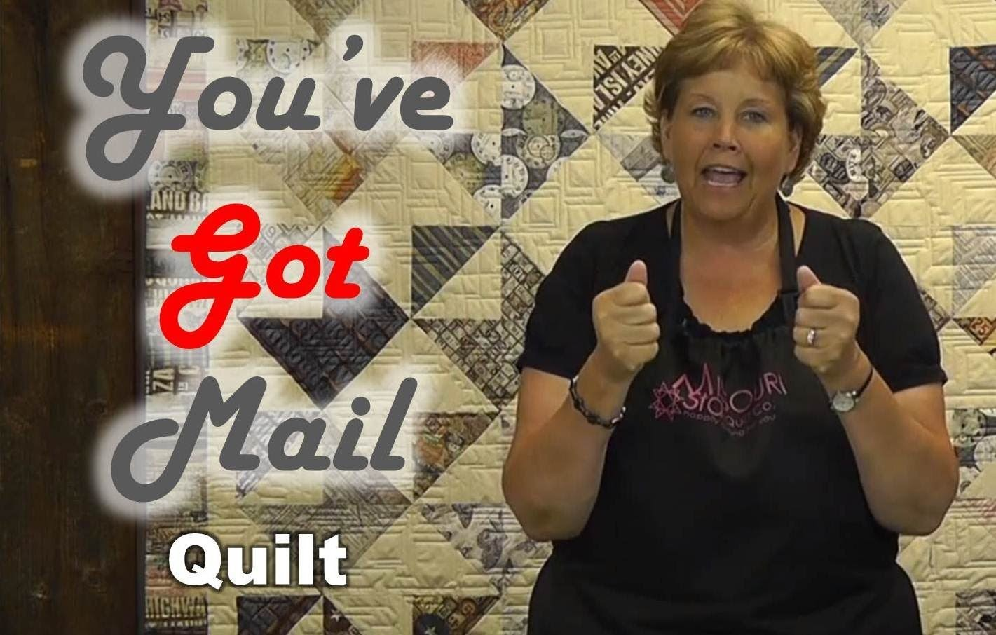 You've Got Mail - Layer Cake Friendly Quilt Project