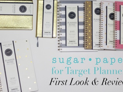 2015 Sugar Paper for Target Planners | First Look & Review