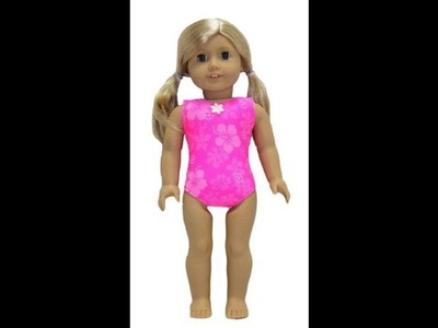 American Girl Doll Clothes Patterns One Piece Swim Suit