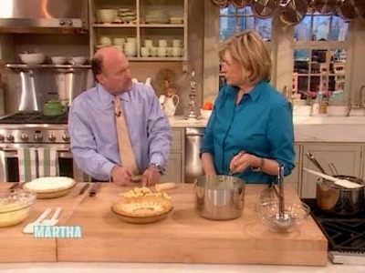 Banana Cream Pie - Part 2 ⎢Jim Cramer ⎢Martha Stewart