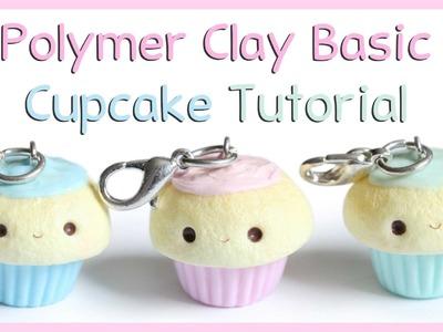 Basic Polymer Clay Cupcake Tutorial