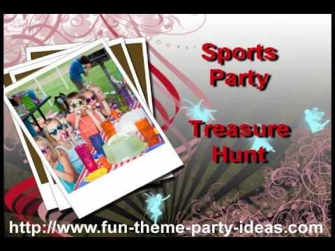 Boy's Birthday Party Ideas