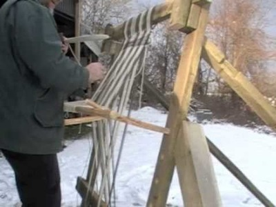 Building a Warp-Weighted Loom, Part II