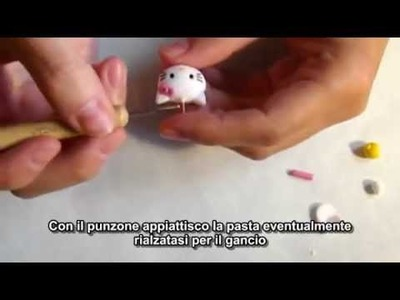 Creare in FiMO ~ Hello Kitty Polymer clay ~ How to make