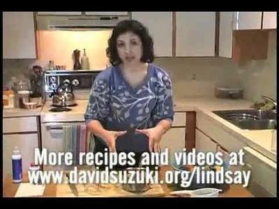 "David Suzuki's Queen of Green DIY Spa - ""How to Make Hairspray"""