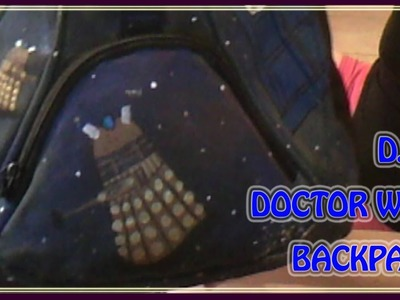 D.I.Y. Doctor Who backpack [Back to school]