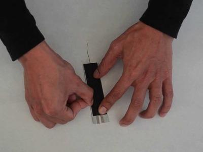 DIY: Make Your Own Bend. Flex Sensor for under $7