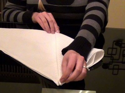 ~•.•.•~Relaxing Napkins Folding Tutorial~•.•.•~