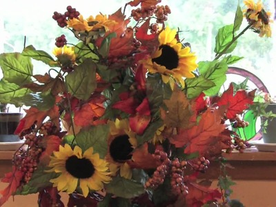 Gardening Flowers : How to Make a Sunflower Arrangement