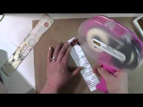 Gate Fold Box & Mini Album Tutorial #1