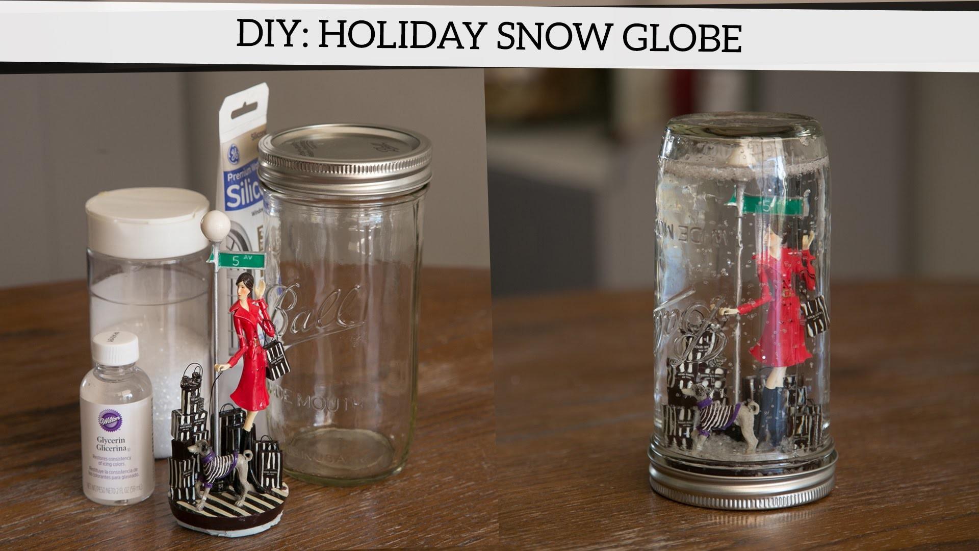 Holiday DIY: How to Make a Snow Globe