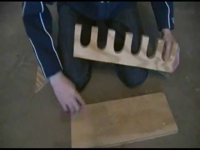 How to Build a Baseball Bat Rack