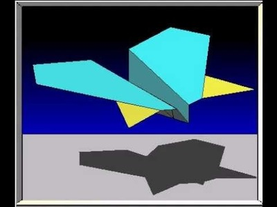 How To Fold The Manta Ray Paper Airplane