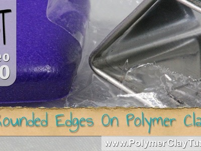 How To Get Smooth Rounded Edges on Polymer Clay Cutouts