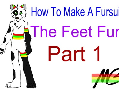 How To Make a Fursuit Tutorial- The Feet Fur Process (Part 1)