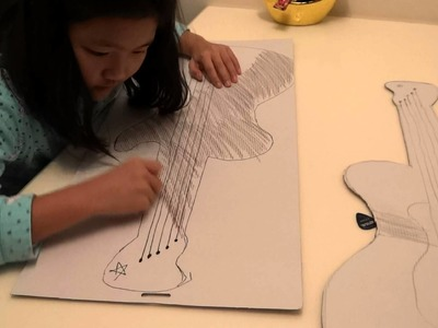 HOW TO MAKE A PAPER GUITAR