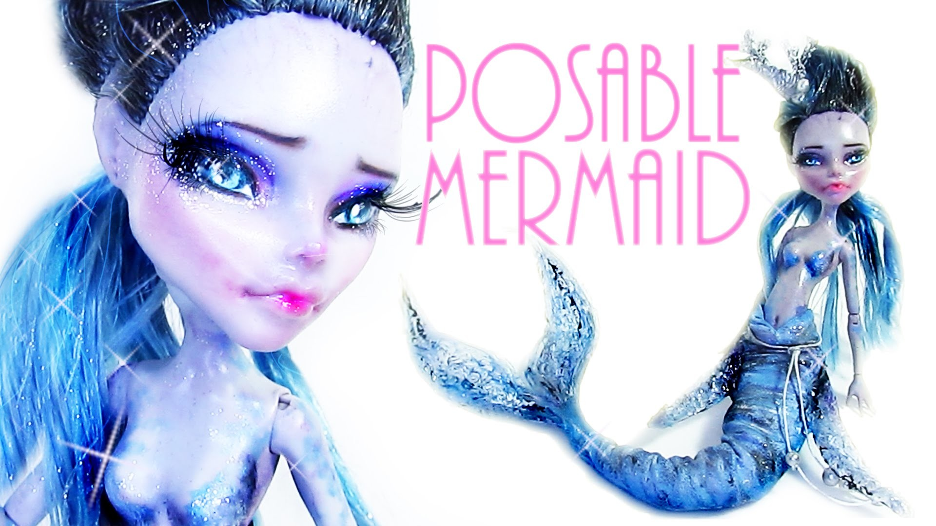 How to make a Posable Mermaid [Rescued Ghoulia]