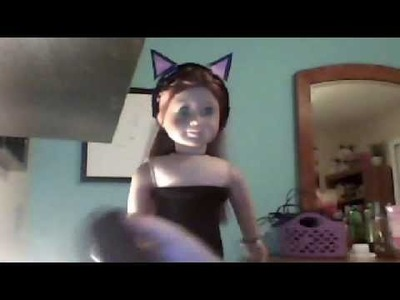 How to Make an American Girl Doll Cat Costume