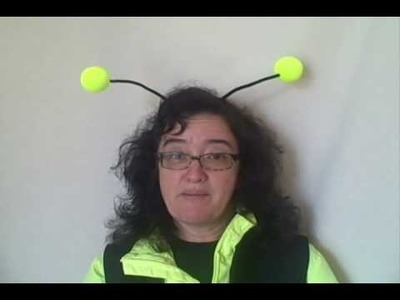 How to Make Bee Antenna for a costume