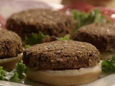 How to Make Black Bean Veggie Burgers