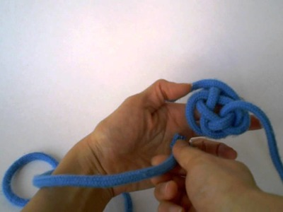 How To Make Chinese Frog Button Knot