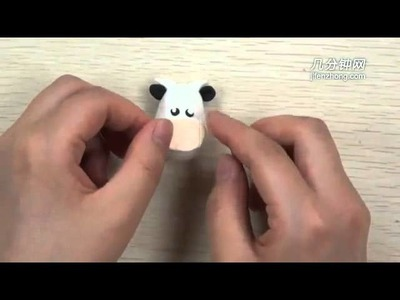 How to Make  Cows with Polymer Clay