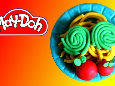 How to make  Fiddlehead Carbonara out of Play Doh