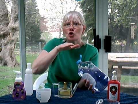 How to make foam soap