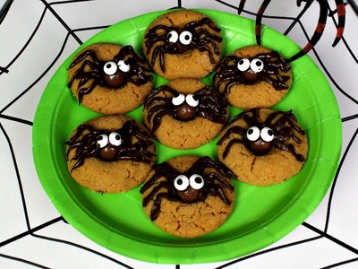 HOW TO MAKE HALLOWEEN SPIDER COOKIES