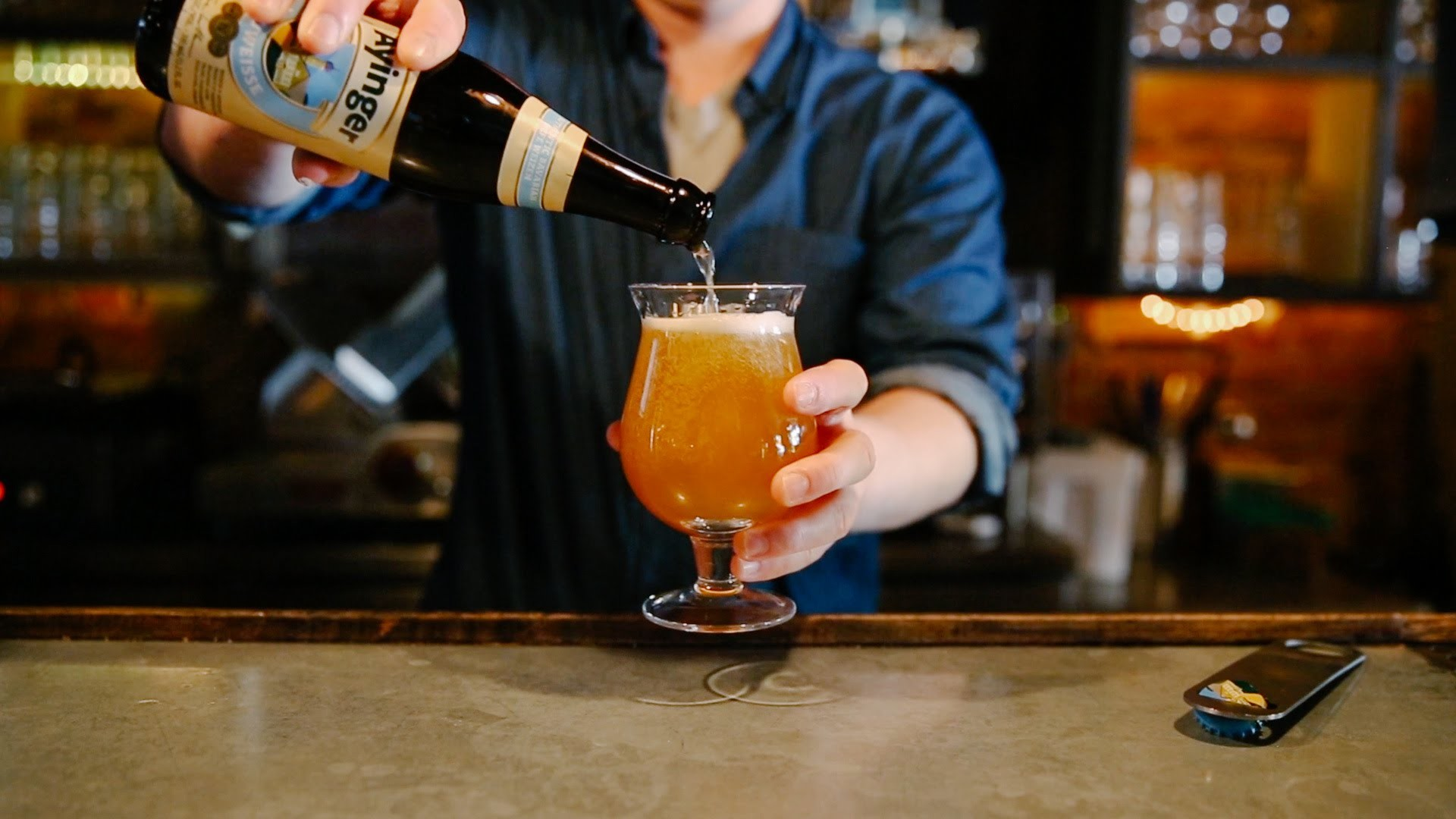 How to Pour the Perfect Beer
