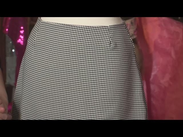 How To Sew A Simple Skirt