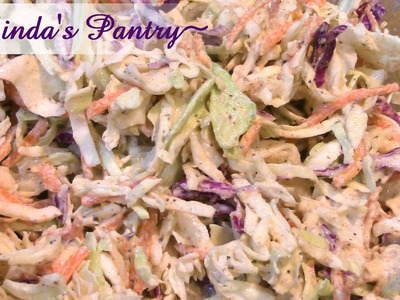 ~Kicked Up Cole Slaw With Linda's Pantry~