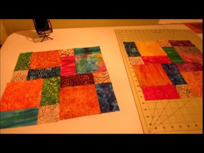 Lovin' the Disappearing 9 Patch quilt block!!