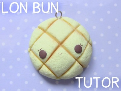 Melon Bun Mirror Polymer Clay Tutorial