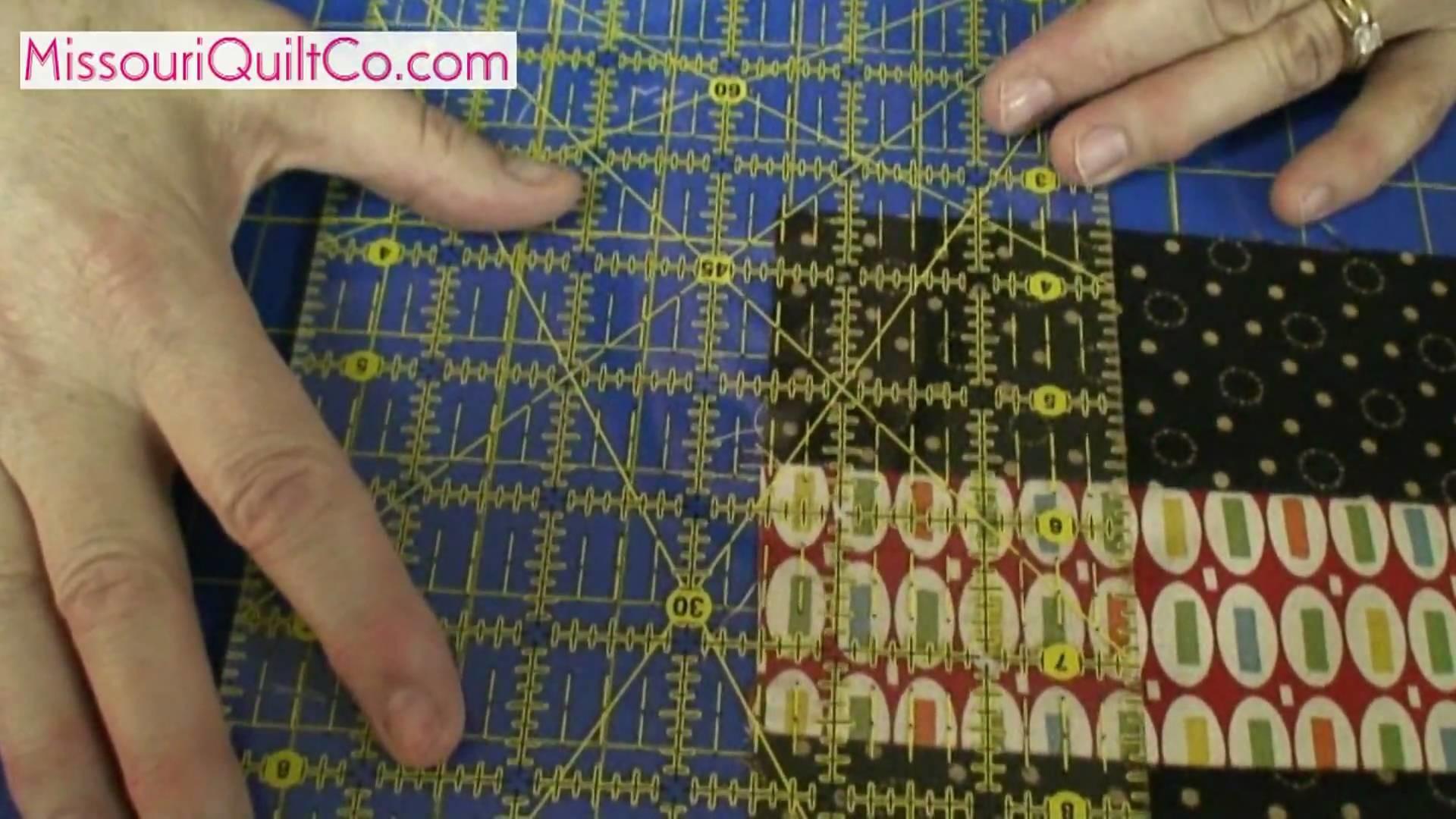 Nine Patch Quilting Block - Beginner Block Quilting Series